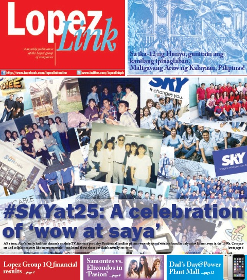 Lopezlink June 2015: #SKYat25: A celebration of 'wow at saya'