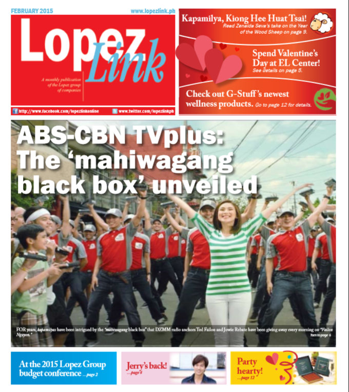 February 2015: ABS-CBN TVplus: The 'mahiwagang black box' unveiled