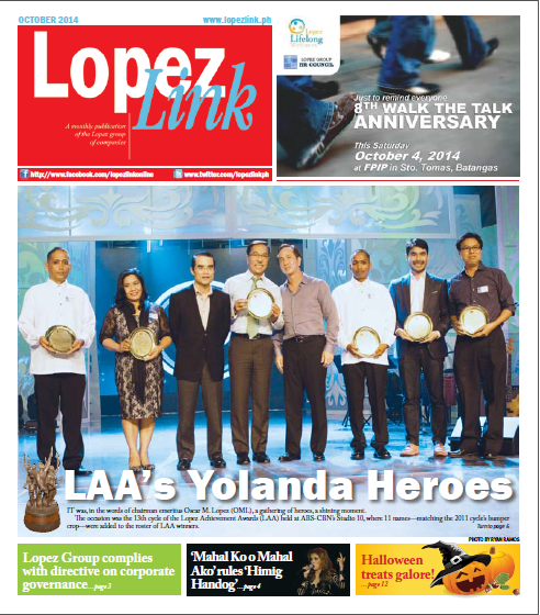 Eleven teams win Lopez Achievement Awards Cycle 2013