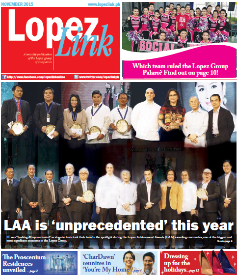 November 2015 Lopez Link Newsletter