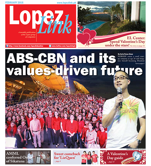 Lopezlink February 2016 issue
